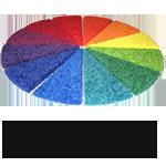 kleuren waaier afdekgigant